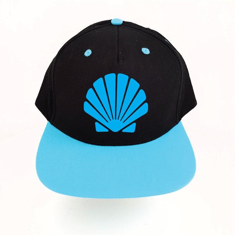 08408a1b98e84 Seashell Snapback Hat. Mermaid Hat. Shell Hat. Snapback Cap.