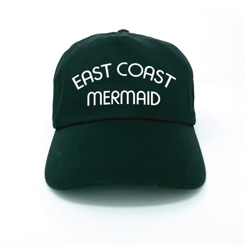 866cb3f4c5219e East Coast Mermaid. Baseball Hat. Dad Hat. Womens Hats. East | Etsy