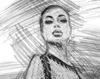 Female domination sketches