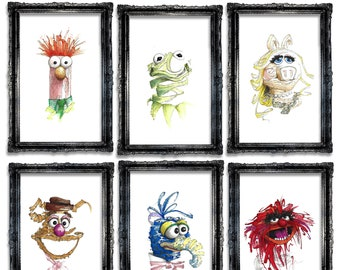 Muppets Print Series
