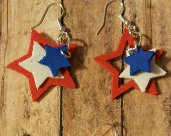 Triple Color Stars