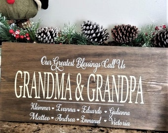 Christmas gifts for grandparents | Etsy