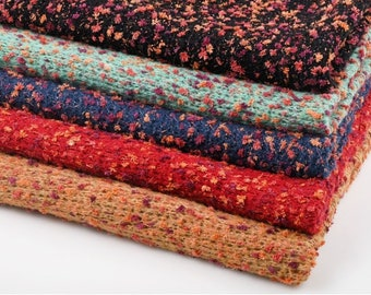 2bf5562dd31261 Boucle knit fabric