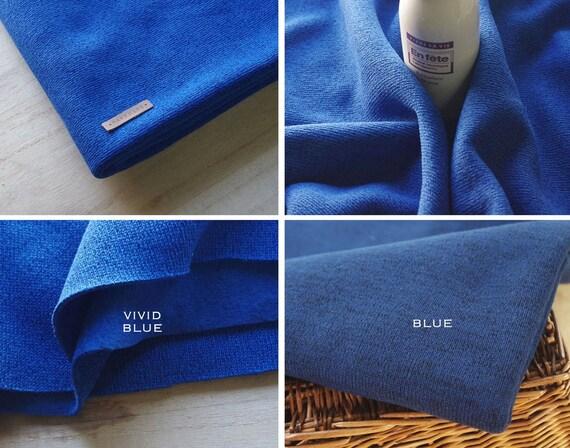 width by yard 63/' Sweatshirt Fleece Knit fabric in 4 colours 160cm