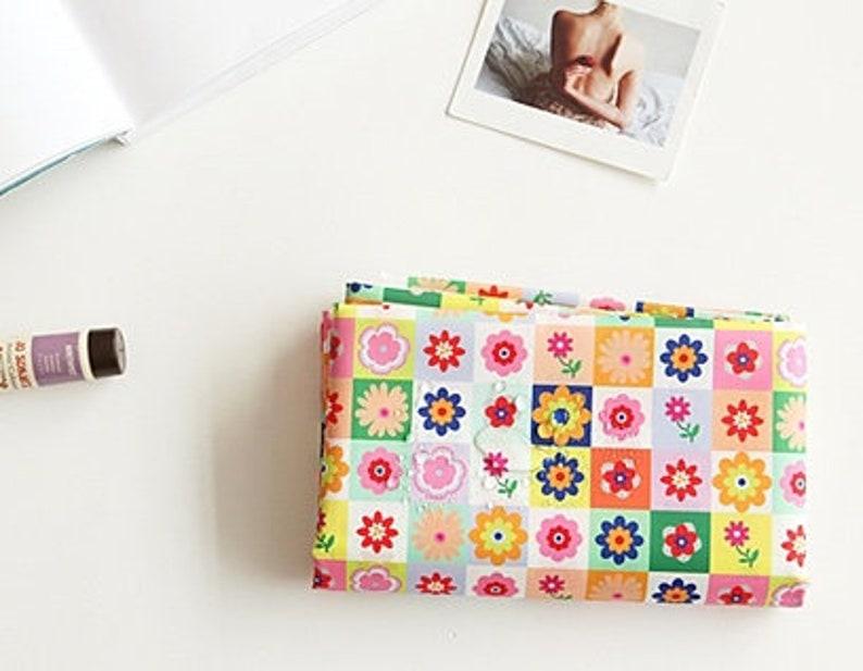 Disco Flowers WATERPROOF AND UV 50+ Fabric by Yard 150cm Width