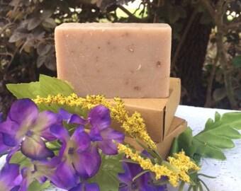 Honey, Milk and Oatmeal Homemade Soap