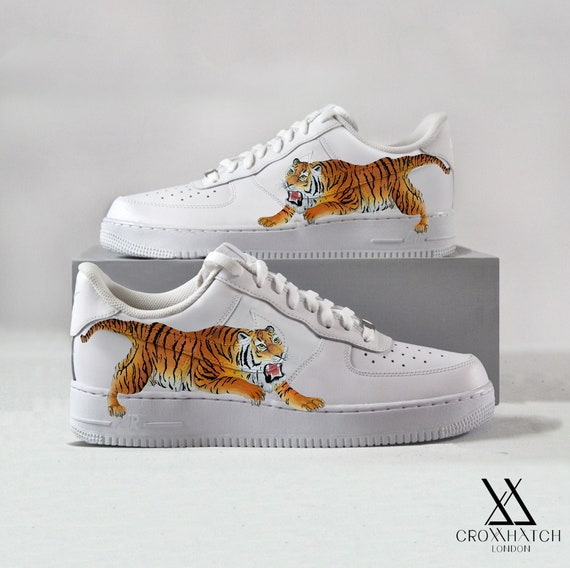 Dripping Paint Air Force 1 Custom Sneakers   Etsy in 2020