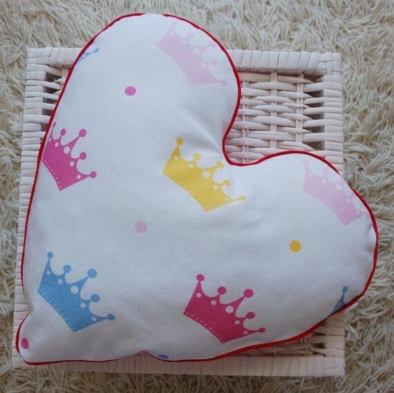 Dwustronna Poduszka Serce Na Walentynki Etsy