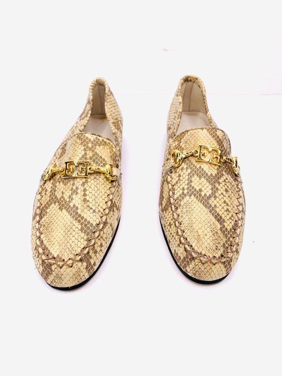 ESCADA Vintage Color Chameleons Car Loafer FlatsVi