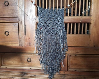 Recycled Medium Macrame Wall Hanging Bunting