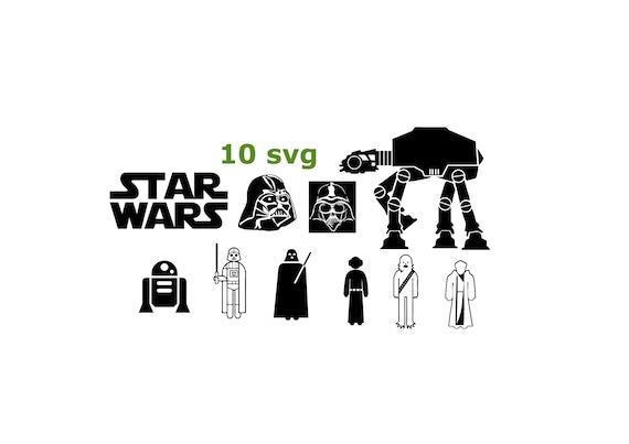 Star War Icon Svg Star War Bundle Icon Star War Cutting Etsy
