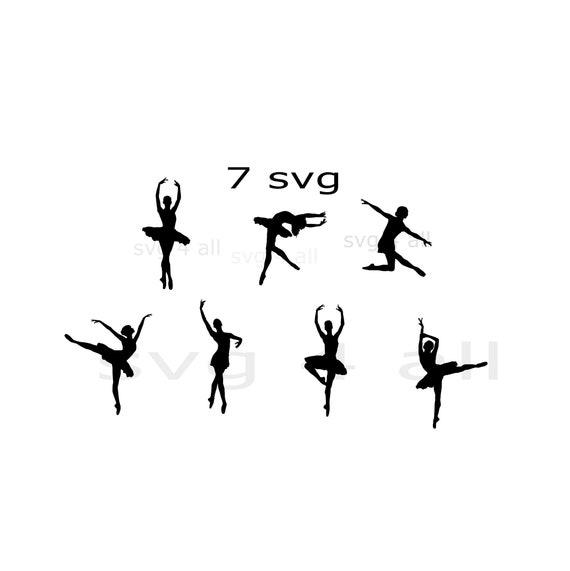 Ballerina Svg, Tänzer, Zeichnung, Tänzerin Vektor, Ballerina Silhouette, ClipArt Ballerina, Ballerina schneiden Datei, Ballerina bundle