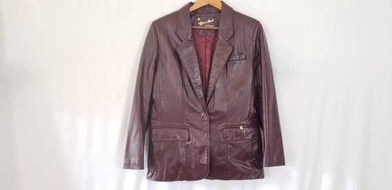 Vintage Etienne Aigner Jacket Size Medium - 70s Le