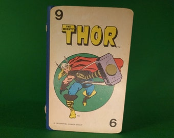 Handmade Marvel Comics 60 Page Pocket Journal - Thor