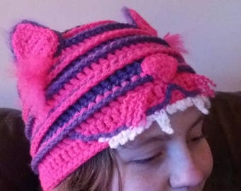 Cheshire Hat - Crochet PATTERN