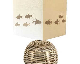 Mixed fish light with Sylt sand