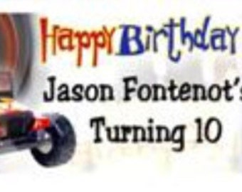 Birthday Boy Personalized Candy Bar Wrappers 10pk