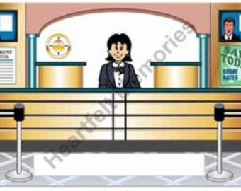 Banker Personalized Cartoon