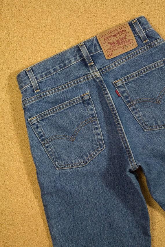 90s Levi's 512 Jeans Sz 26 27 XS S - image 6