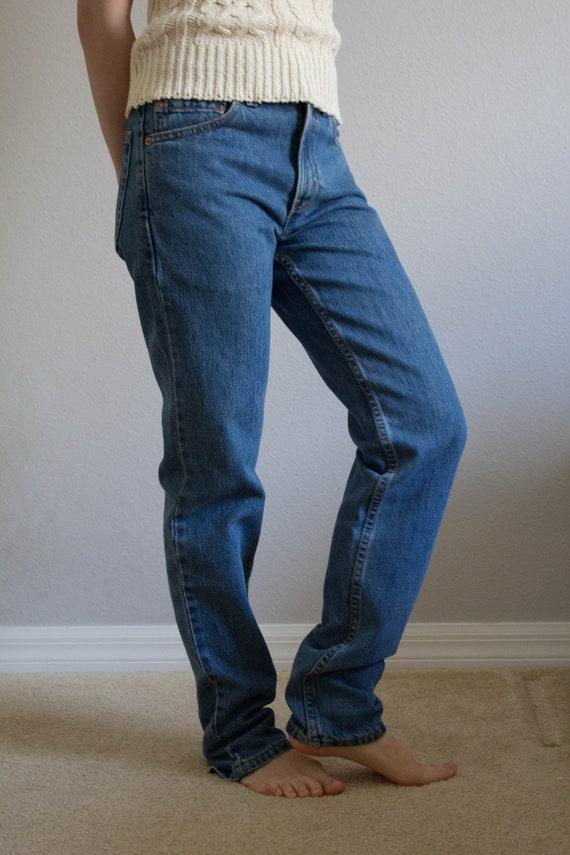 90s Levi's 512 Jeans Sz 26 27 XS S - image 2