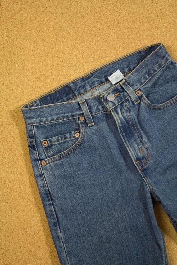 90s Levi's 512 Jeans Sz 26 27 XS S - image 7