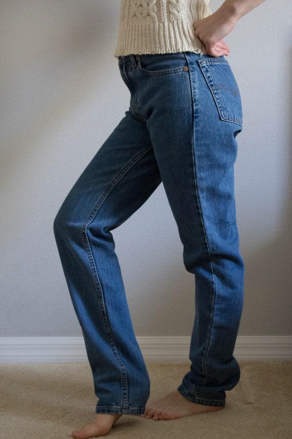 90s Levi's 512 Jeans Sz 26 27 XS S - image 5
