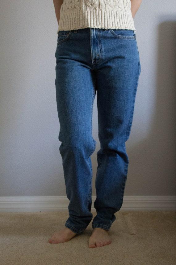 90s Levi's 512 Jeans Sz 26 27 XS S - image 4