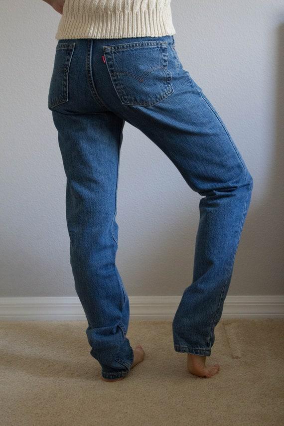 90s Levi's 512 Jeans Sz 26 27 XS S - image 1