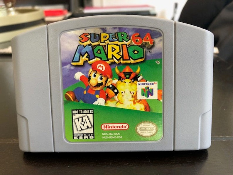 Super Mario 64 | Authentic Nintendo 64 Game Cartridge | Tested and Works