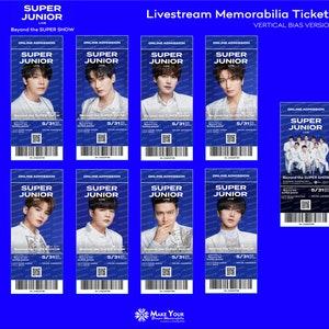 2020 Super ON:TACT Online Memorabilia Tickets