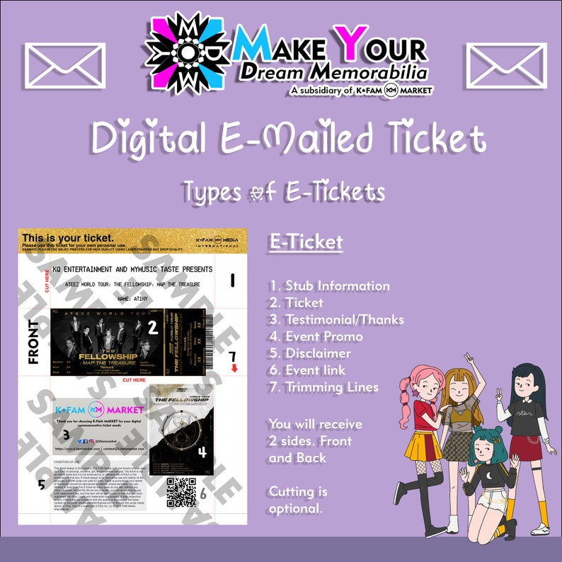 Updated! Map of the Soul ONE Online Memorabilia Tickets