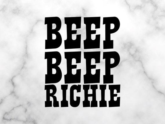 Beep beep your ass