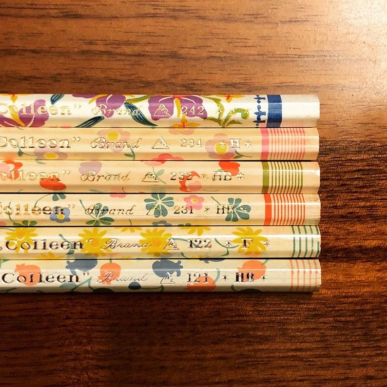 Colleen Makoto Floral 6-Pencil Sampler Set