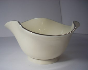 LENOX Antique White Fluted Candy Bowl Serving Dish