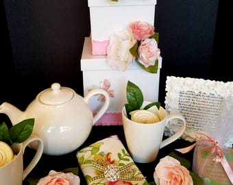 Mothers Day, Bridal Showers, Birthdays, Weddings, Anniversaries or Special Gifts -- Elegant, Timeless, High Quality Gift Box Set