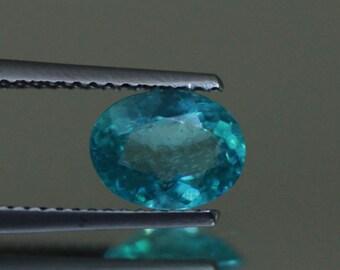 1.32CTSWonderful Top luster 100% Natural Super BLUE appatite -loose gemstone