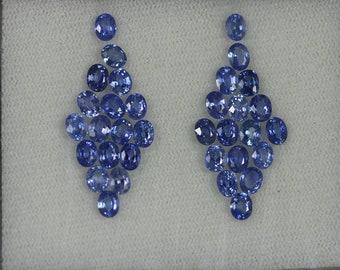 10.34CTSWonderful Top luster 100% Natural Super Blue SAPPHIRE -loose gemstone
