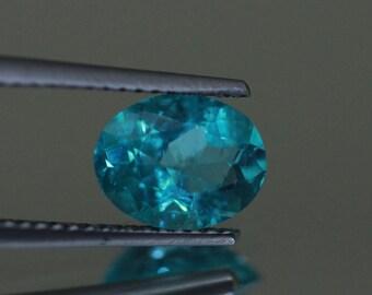 1.91CTSWonderful Top luster 100% Natural Super BLUE appatite -loose gemstone