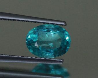 1.54CTSWonderful Top luster 100% Natural Super BLUE appatite -loose gemstone