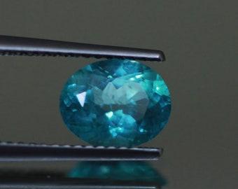 1.61CTS Top luster 100% Natural Super BLUE appatite -loose gemstone