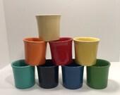 Vintage HLC Fiestaware Dinnerware Mug assorted colors