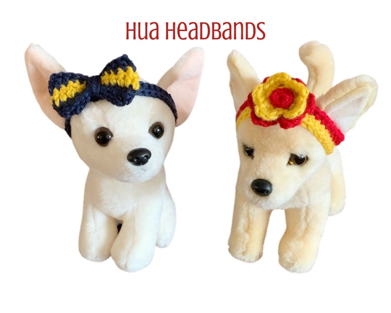 Dog Headbands Chihuahua Headbands Small dog Headbands Hua image 0