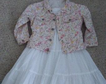 Dress and Denim Jacket - Size 4