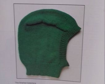 A knitted Hat Pattern .PDF file (c24)