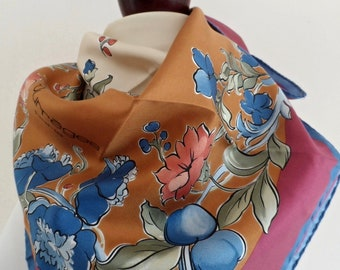 94978408d7d Signed Print Pure Silk Scarf Ntw Unworn Unworn NoS New Old Stock France