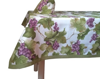 Mid Blue Pink by andreaalice Floral Tablecloth Flowers Cotton Sateen Tablecloth by Spoonflower Fasciata Tropical