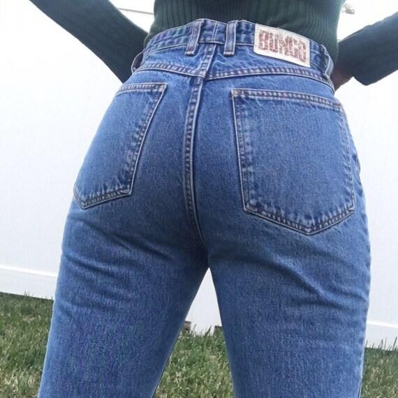 Vintage Highwaisted Bongo Mom Jeans Size