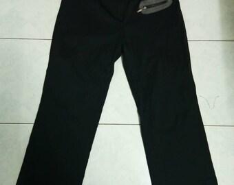 Vintage Christian Dior Black Pants