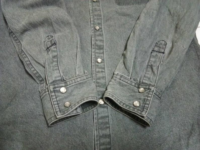Vintage!! APC denim button up long sleeves