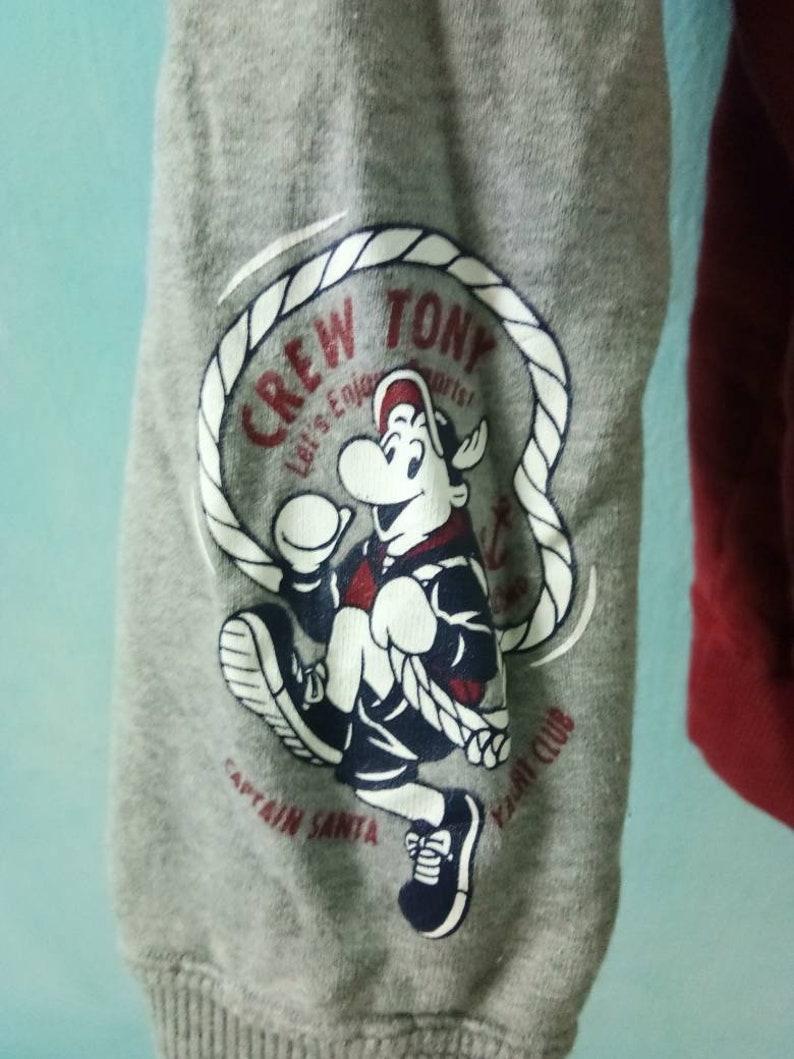 Rare!! Captain Santa Yatch Club Hoodie